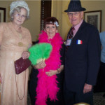 Costume contest winners Evelyn Stroder, Peggy Kelton and Lane Bond at Big Spring.