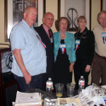 Speakers from the Big Spring meeting.  L-R Craig Fischer, Lane Bond, Janie Harrison, Sue Ann Damron & Roger Goertz.